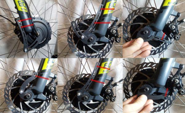 Усилителение передней вилки электровелосипеда