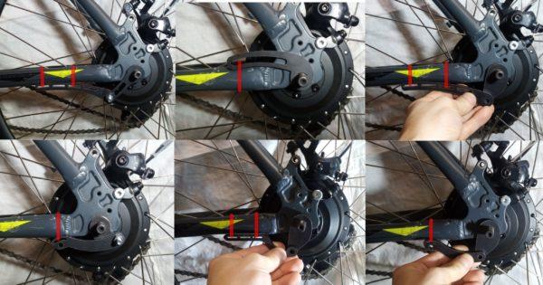 Усиление заднего мотор-колеса электровелосипеда