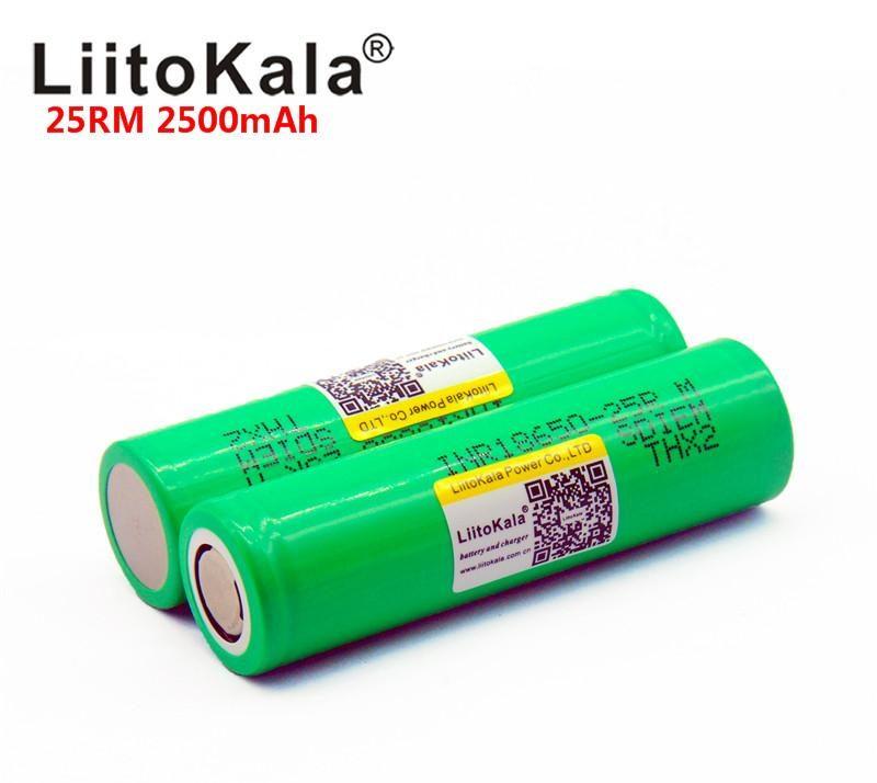 Аккумуляторы 18650 с наклейкой LiitoKala