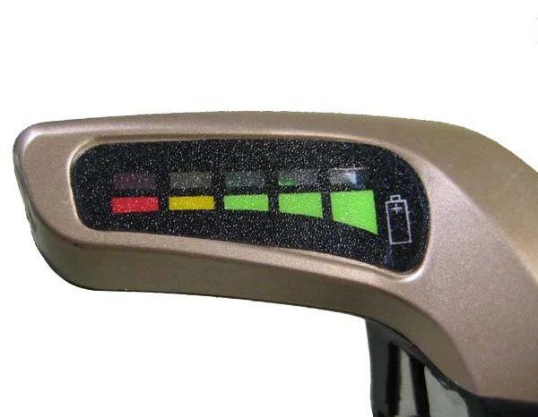 Индикация уровня заряда батареи