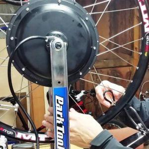 Спицовка мотор-колес