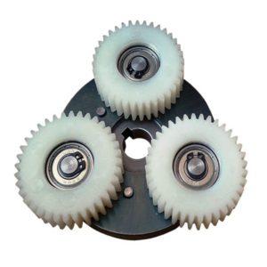 Редуктор (фривил) с шестернями для мотор-колеса XF15